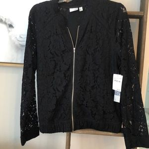 e889853261e 14th   Union Jackets   Coats - 14th   Union BLACK Lace Bomber Jacket